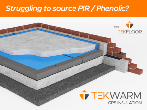 tekwarm_insulation_PIR_shortage