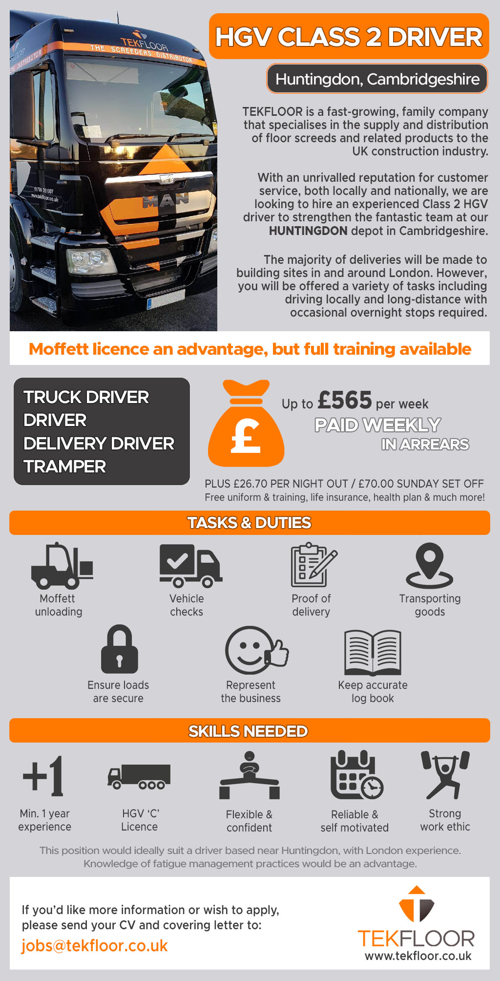 Experienced HGV2 Driver